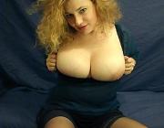 Older Italian babe with big boobs